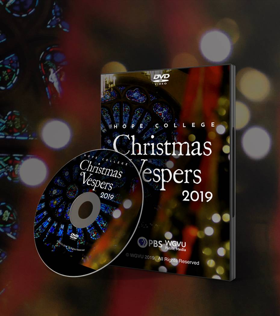 Hope College Christmas Vespers 2019 DVD